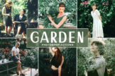 Last preview image of Garden Photoshop Actions