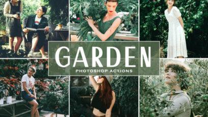 Garden Photoshop Actions
