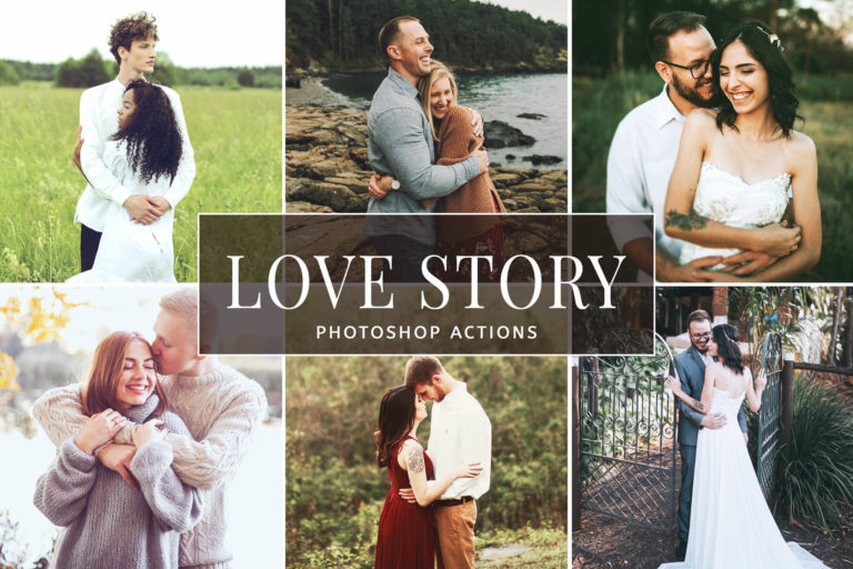 Preview image of Love Story Photoshop Actions