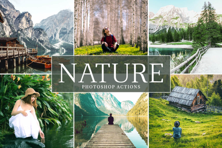 Preview image of Nature Photoshop Actions