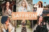 Last preview image of Saffron Mobile & Desktop Lightroom Presets