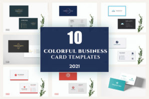 picture of 10 Colorful Business Card Templates