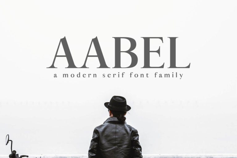 Preview image of Aable Modern Serif Font Family