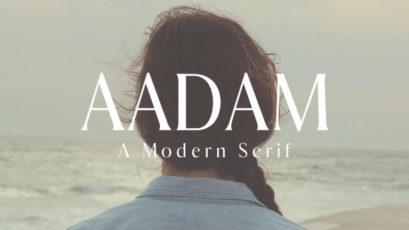 Aadam Modern Serif Font Family
