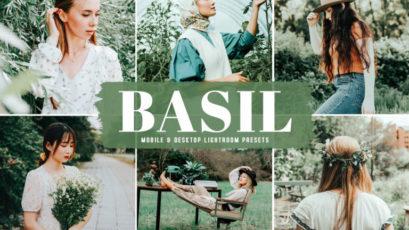 Basil Mobile & Desktop Lightroom Presets