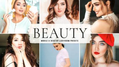 Beauty Mobile & Desktop Lightroom Presets