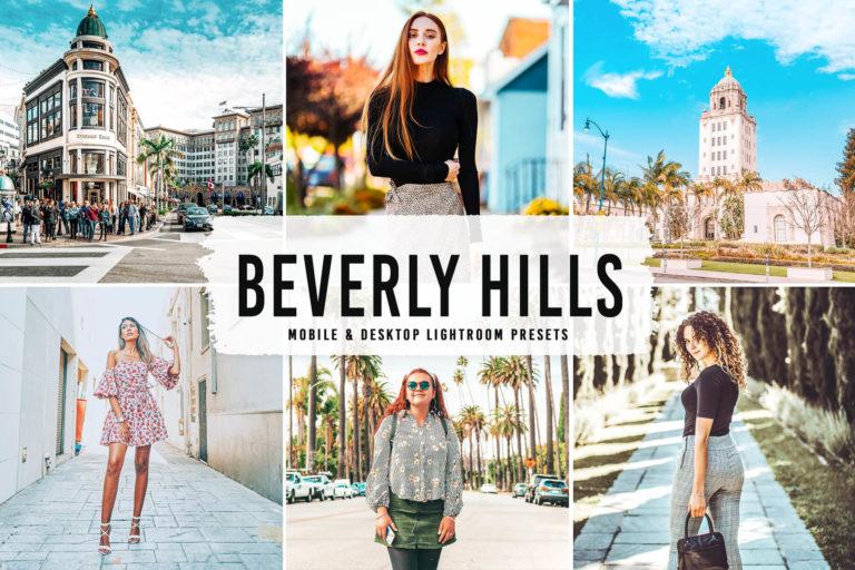 Preview image of Beverly Hills Mobile & Desktop Lightroom Presets V2