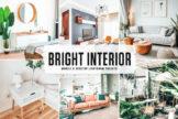Last preview image of Bright Interior Mobile & Desktop Lightroom Presets