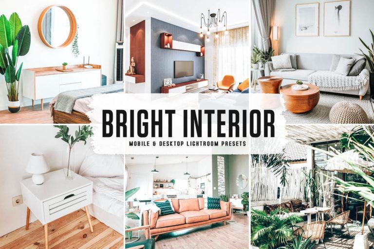 Preview image of Bright Interior Mobile & Desktop Lightroom Presets