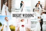 Last preview image of Bright Wedding Mobile & Desktop Lightroom Presets