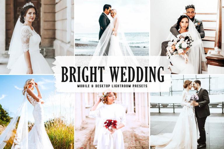 Preview image of Bright Wedding Mobile & Desktop Lightroom Presets