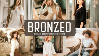 Bronzed Mobile & Desktop Lightroom Presets