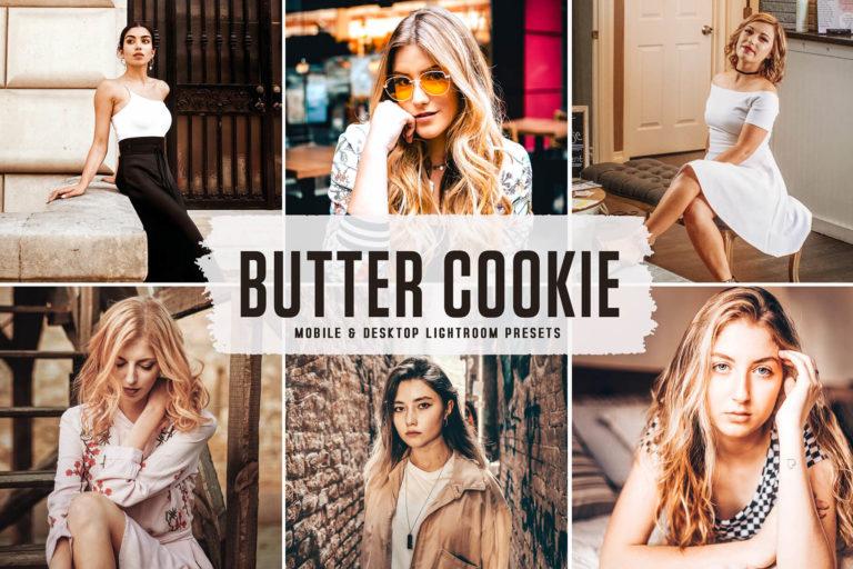 Preview image of Butter Cookie Mobile & Desktop Lightroom Presets