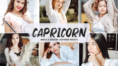 Capricorn Mobile & Desktop Lightroom Presets