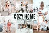 Last preview image of Cozy Home Mobile & Desktop Lightroom Presets
