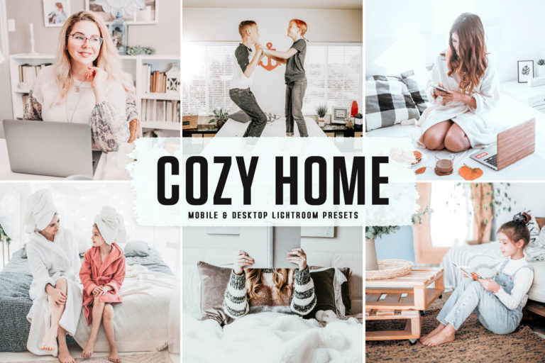 Preview image of Cozy Home Mobile & Desktop Lightroom Presets