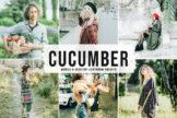 Last preview image of Cucumber Mobile & Desktop Lightroom Presets