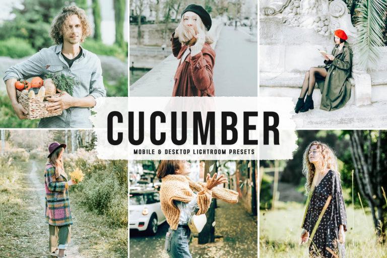 Preview image of Cucumber Mobile & Desktop Lightroom Presets