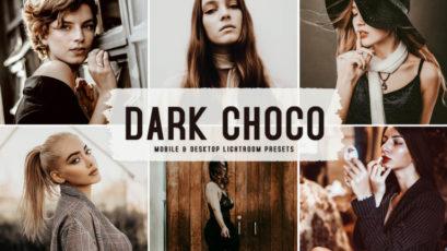 Dark Choco Mobile & Desktop Lightroom Presets