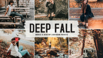 Deep Fall Mobile & Desktop Lightroom Presets