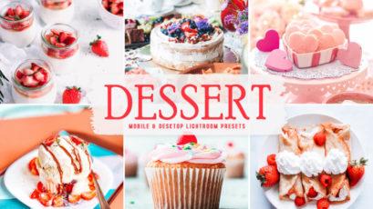 Dessert Mobile & Desktop Lightroom Presets