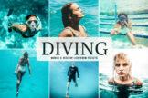 Last preview image of Diving Mobile & Desktop Lightroom Presets