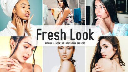Fresh Look Mobile & Desktop Lightroom Presets