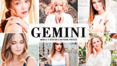 Gemini Mobile & Desktop Lightroom Presets