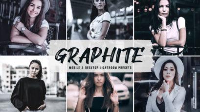 Graphite Mobile & Desktop Lightroom Presets