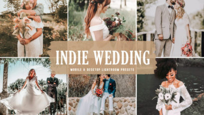 Indie Wedding Mobile & Desktop Lightroom Presets
