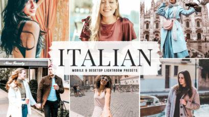 Italian Mobile & Desktop Lightroom Presets