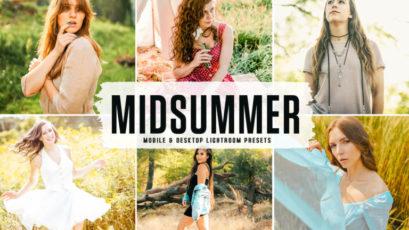 Midsummer Mobile & Desktop Lightroom Presets