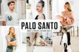 Last preview image of Palo Santo Mobile & Desktop Lightroom Presets