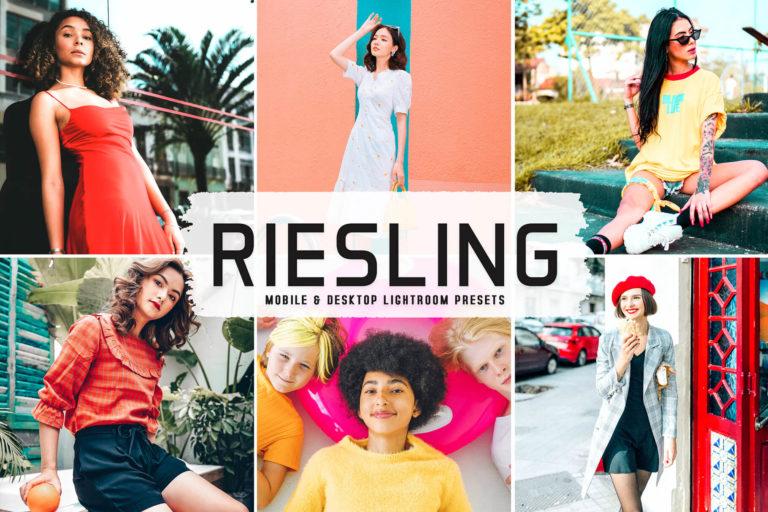 Preview image of Riesling Mobile & Desktop Lightroom Presets
