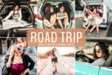 Last preview image of Road Trip Mobile & Desktop Lightroom Presets