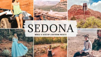 Sedona Mobile & Desktop Lightroom Presets