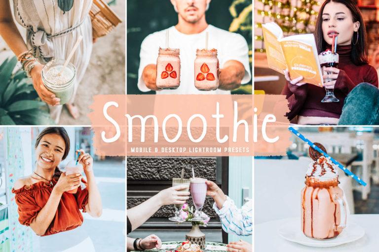 Preview image of Smoothie Mobile & Desktop Lightroom Presets