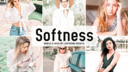 Softness Mobile & Desktop Lightroom Presets