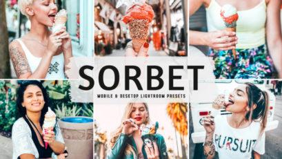 Sorbet Mobile & Desktop Lightroom Presets