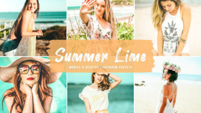 Summer Lime Mobile & Desktop Lightroom Presets