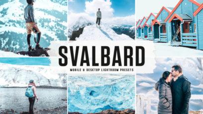 Svalbard Mobile & Desktop Lightroom Presets