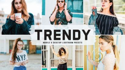 Trendy Mobile & Desktop Lightroom Presets