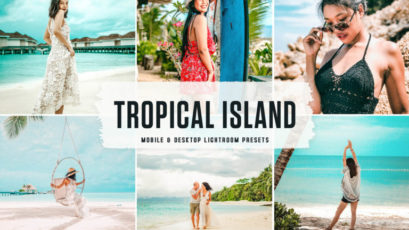 Tropical Island Mobile & Desktop Lightroom Presets