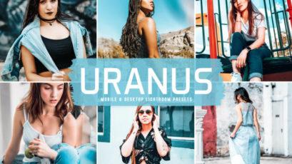 Uranus Mobile & Desktop Lightroom Presets