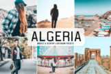 Last preview image of Algeria Mobile & Desktop Lightroom Presets