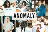 Last preview image of Anomaly Mobile & Desktop Lightroom Presets