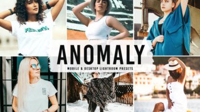 Anomaly Mobile & Desktop Lightroom Presets