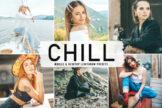 Last preview image of Chill Mobile & Desktop Lightroom Presets