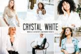 Last preview image of Crystal White Mobile & Desktop Lightroom Presets