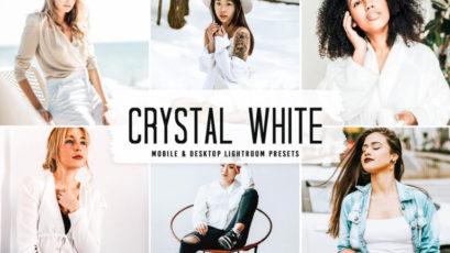 Crystal White Mobile & Desktop Lightroom Presets